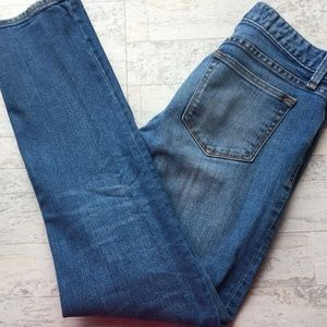 GAP Jeans Real Straight Light Blue Wash 26R